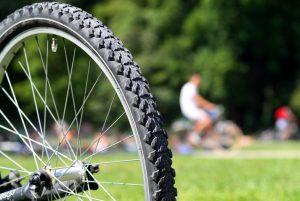 Fahrrad Nahaufnahme Drömlingsrad Kunrau E-Bike Umbau